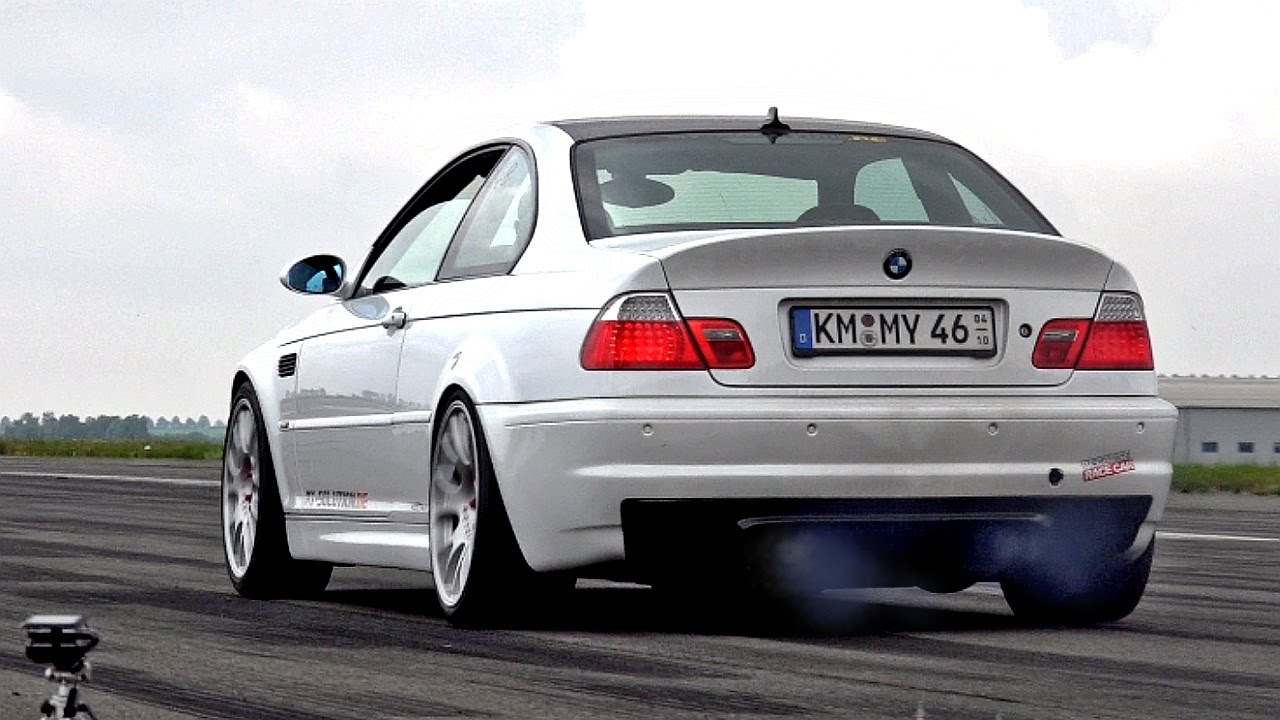 BMW M3 E46 Supercharger 800 HP Acceleration & Engine Sound