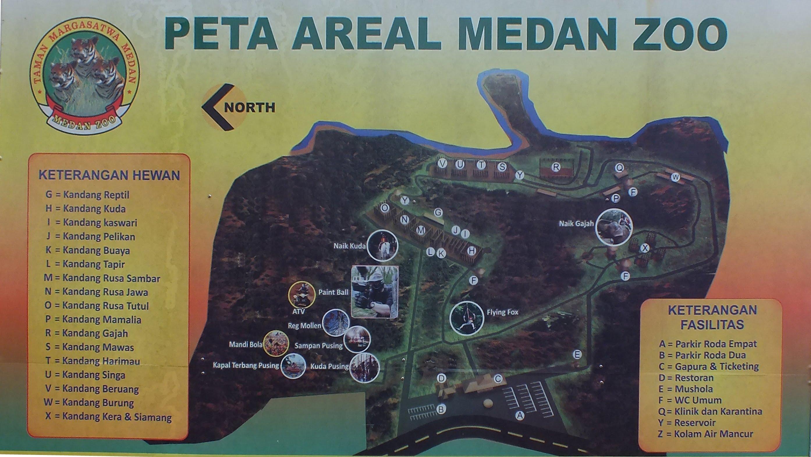 Kebun Binatang Medan – Medan Zoo