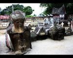 Makam Raja Sidabutar di Pulau Samosir
