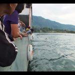 Perjalanan Kapal Ferry dari Pelabuhan Ajibata ke Tomok
